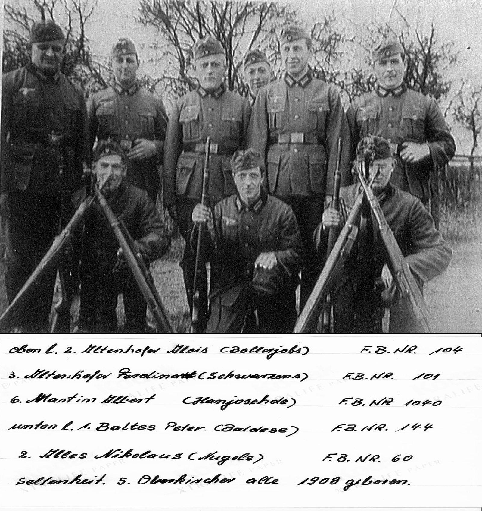 Soldaten aus Oberkirchen