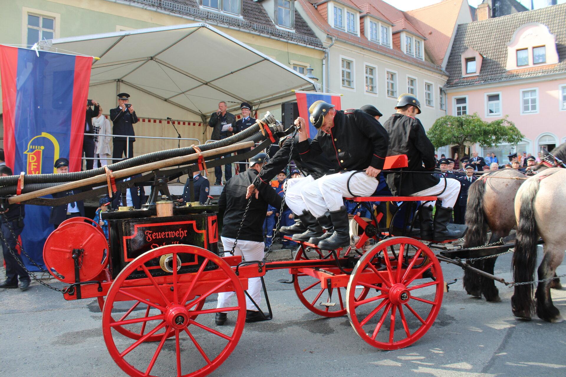 Feierlichkeiten 150 Jahre FFw Lommatzsch