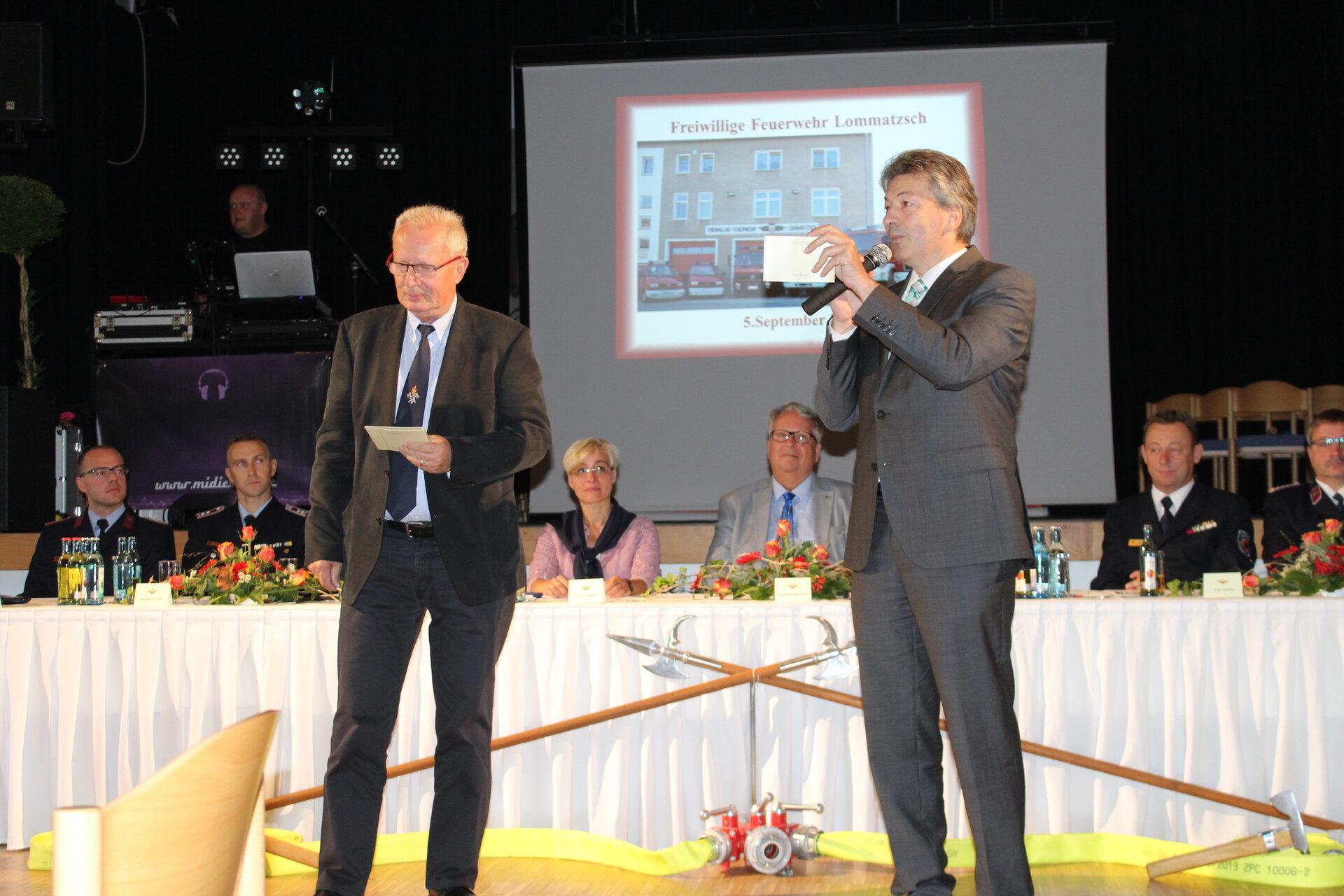 Festakt 150 Jahre FFw Lommatzsch
