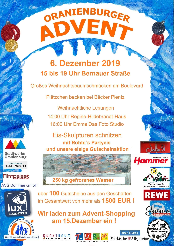 Oranienburger Advent 2019