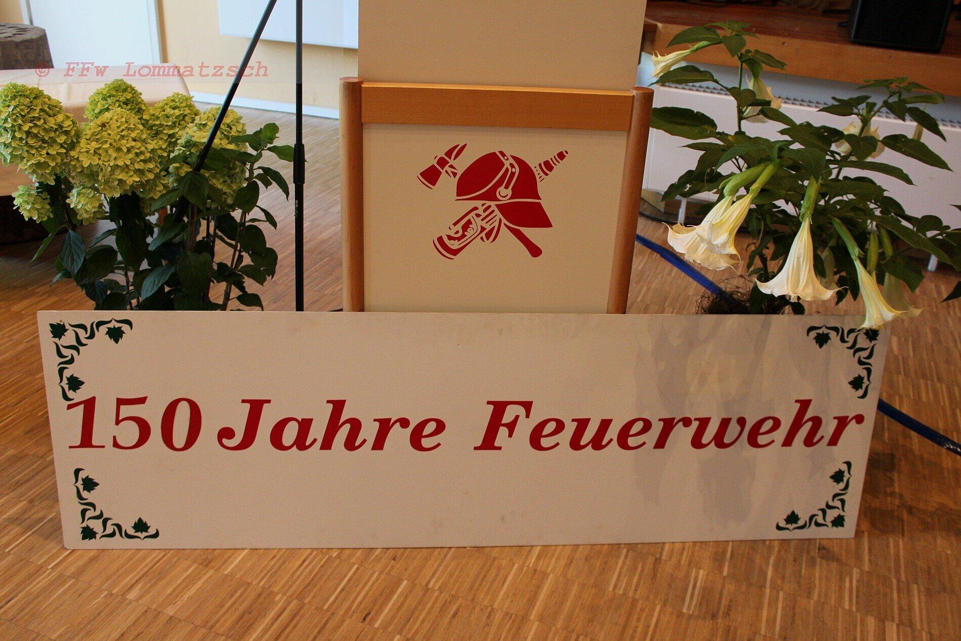 150 Jahre FFw Lommatzsch