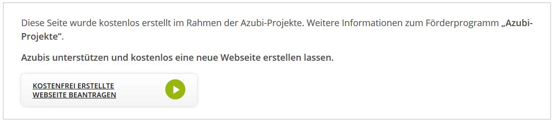 Azubi-Projekte