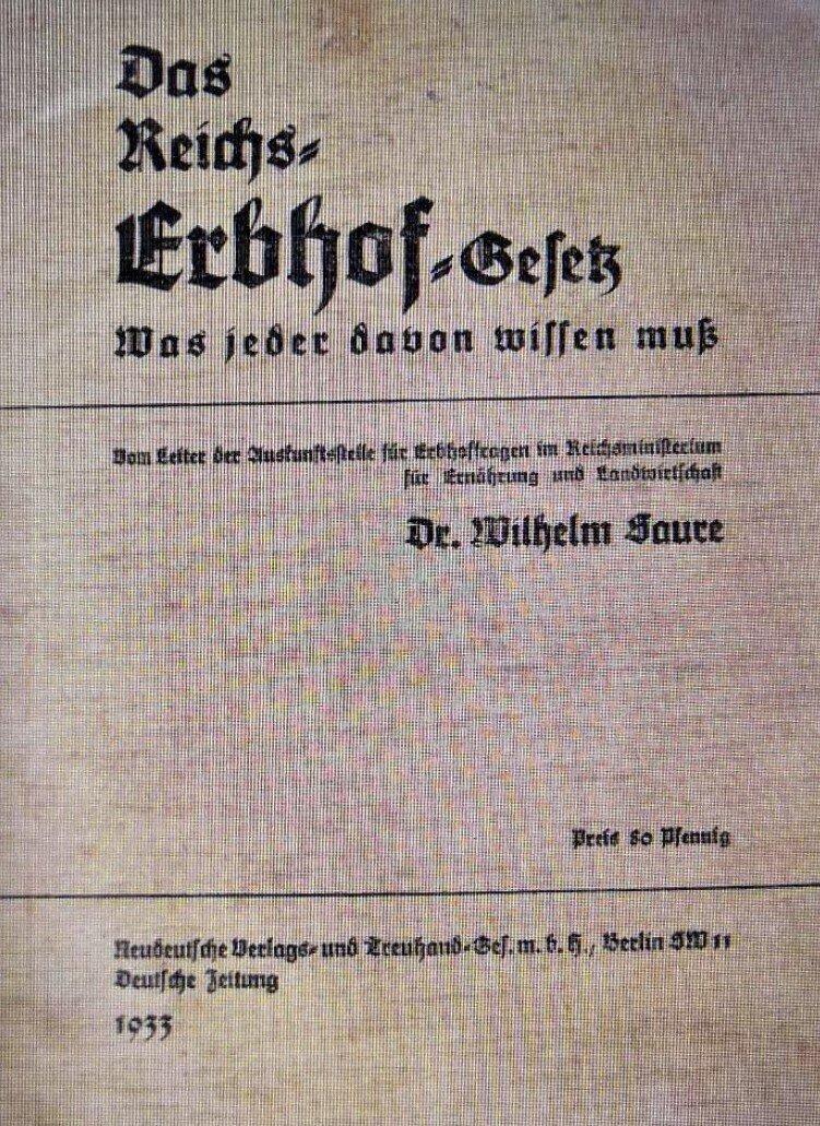 Reichserbhofgesetz