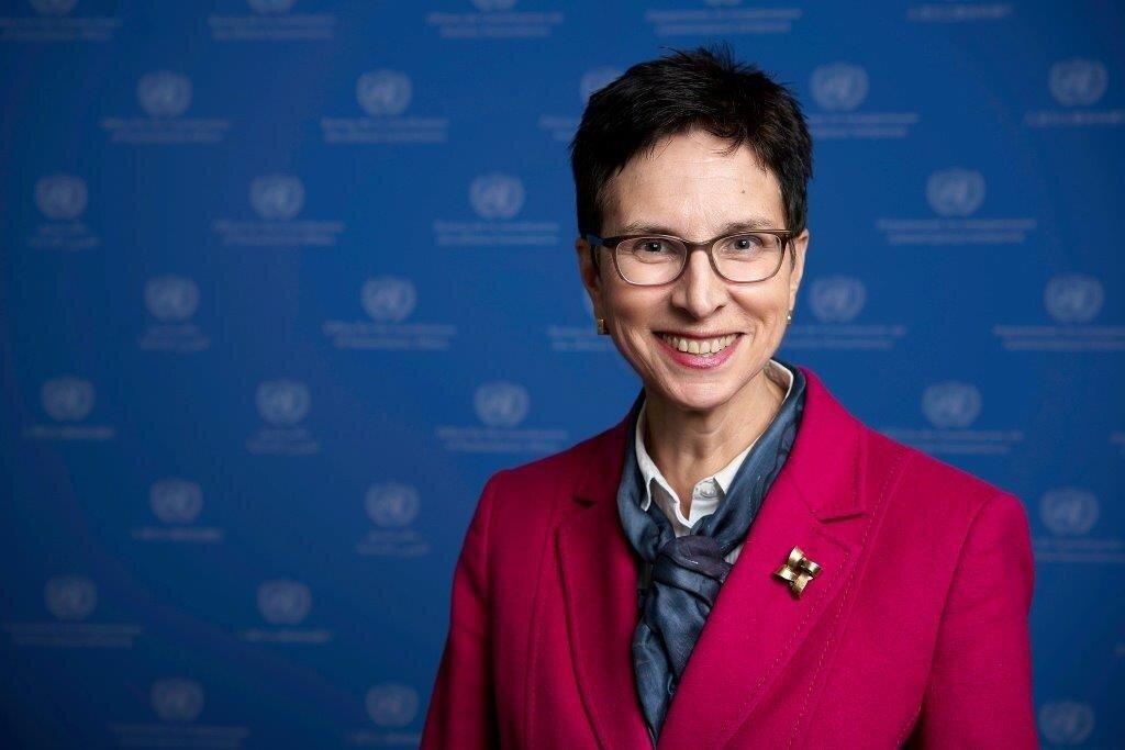 Ursula Müller, Beigeordnete Generalsekretärin und stellvertretende Nothilfe-Koordinatorin der Vereinten Nationen, Büro für die Koordinierung humanitärer Angelegenheiten (OCHA)