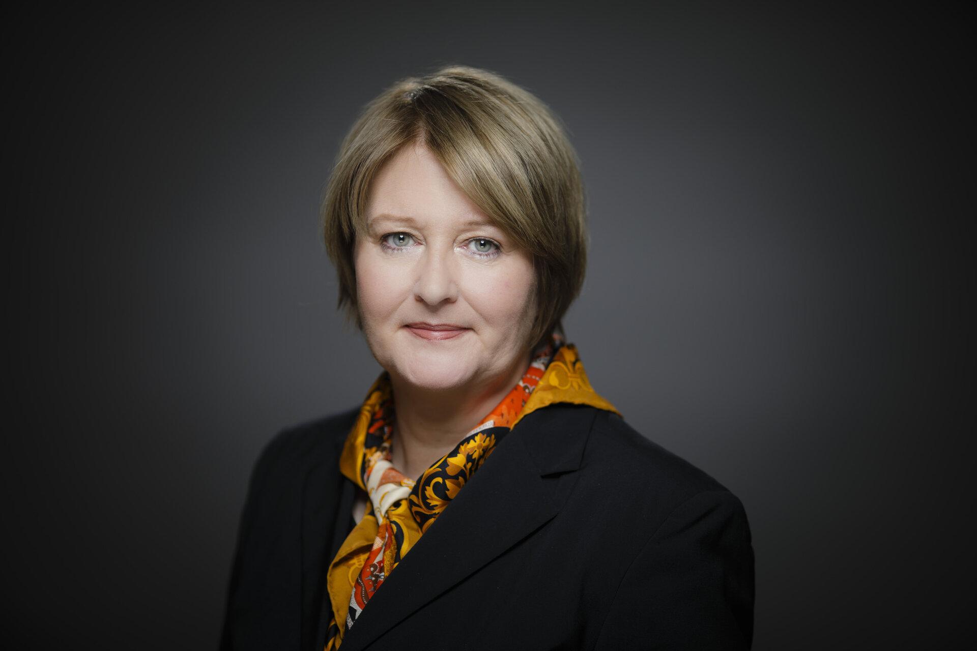 Botschafterin Antje Leendertse, Ständige Vertreterin der Bundesrepublik Deutschland bei dem Büro der Vereinten Nationen und den anderen Internationalen Organisationen in Genf
