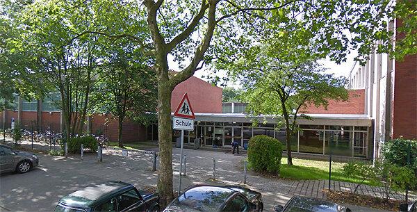 Eingang zum Sportpark Rotherbaum, Turmweg 2