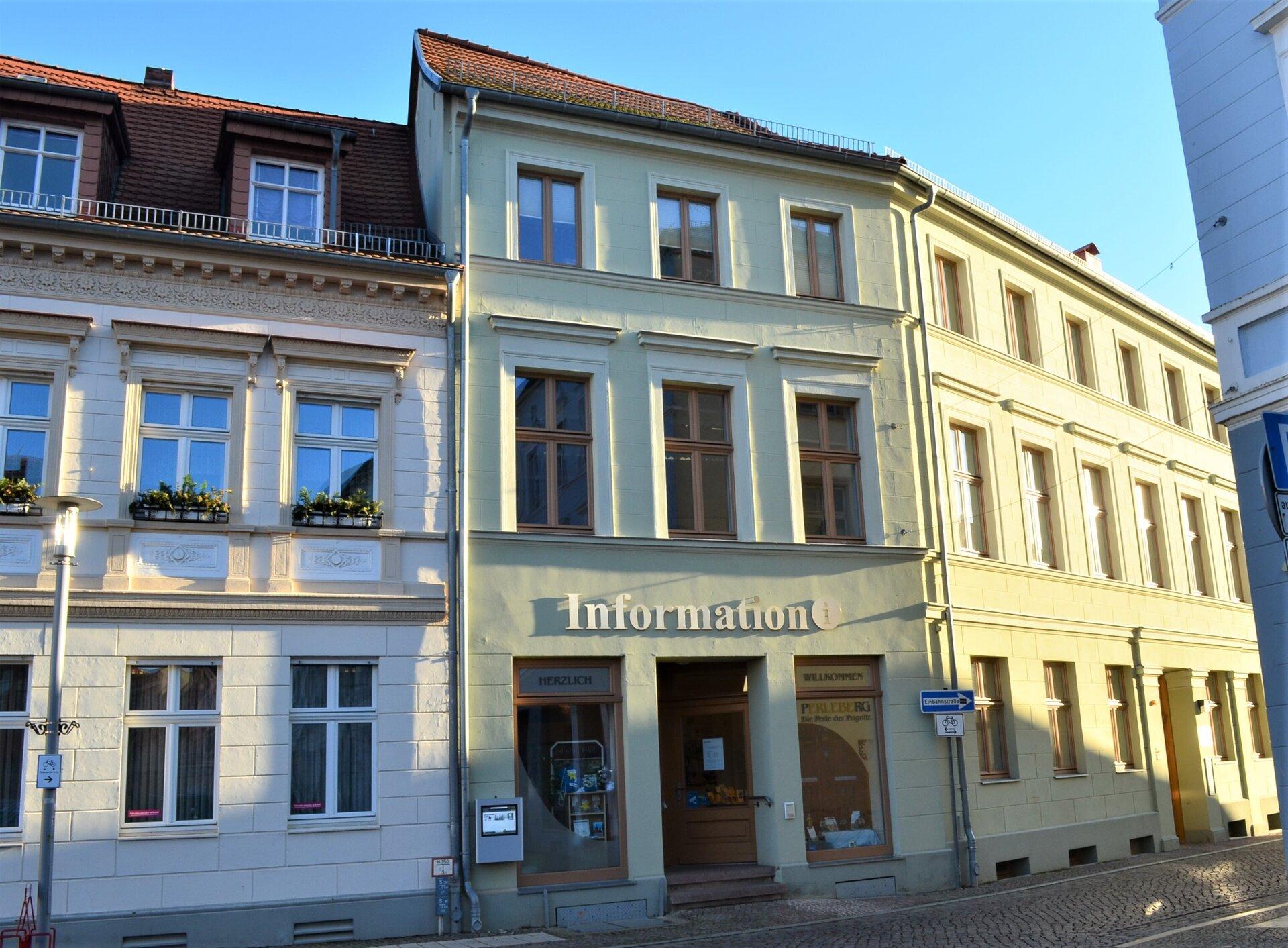 Eingang Stadtinformation Perleberg