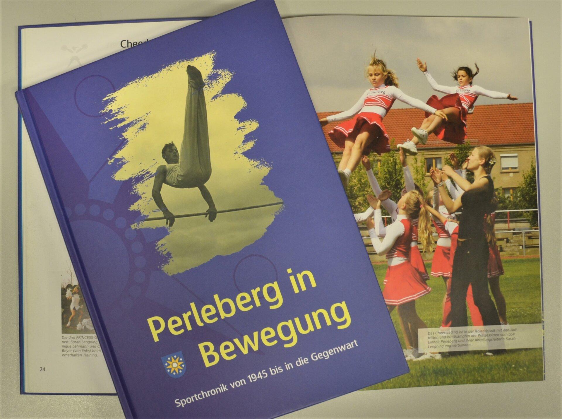 "Buch ""Perleberg in Bewegung"""