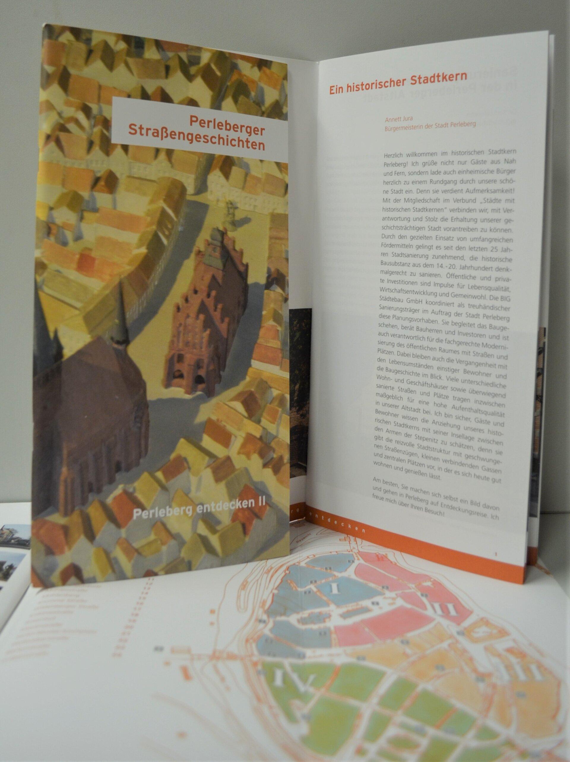 "Broschüre ""Perleberger Straßengeschichten"""