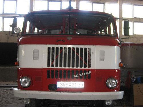 Tanklöschfahrzeuges W 50