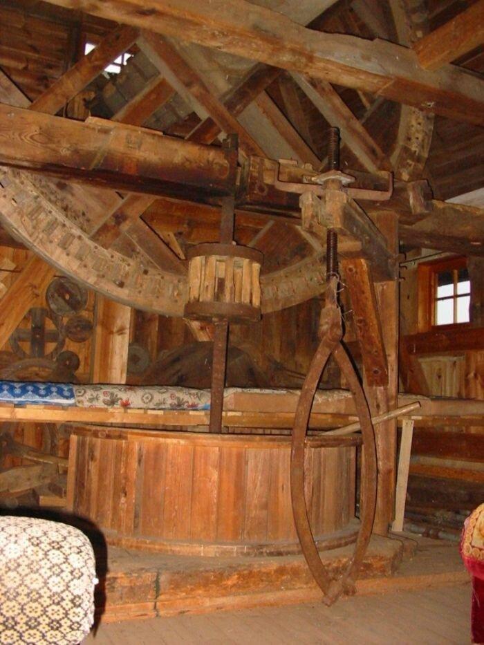 Getriebe der Mühle