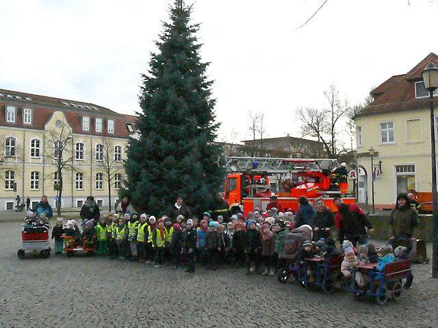 Baum aufstellen 2017