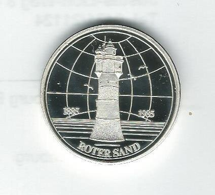 Medaille Roter Sand