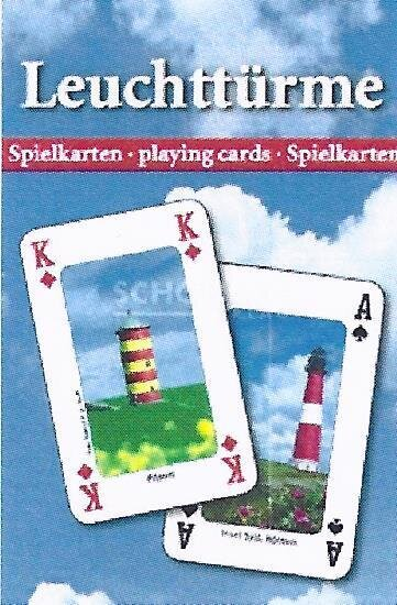 Kartenspiel Leuchttürme