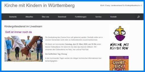 Kirche mit Kindern Württemberg