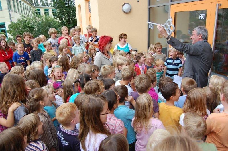 Eröffnung des Hortes der Geschwister-Scholl-Grundschule