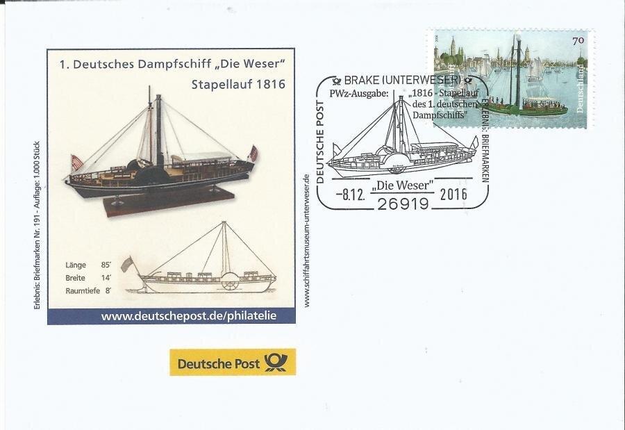 Dampfschiff Weser