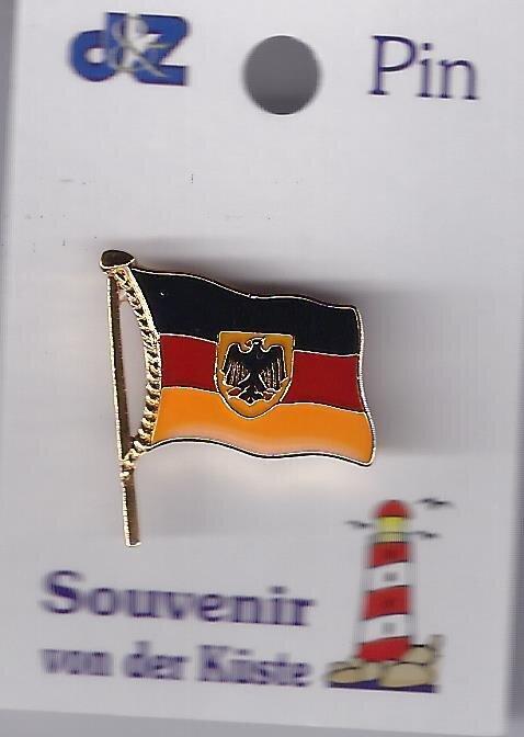 Deutlandflagge Bundesadler