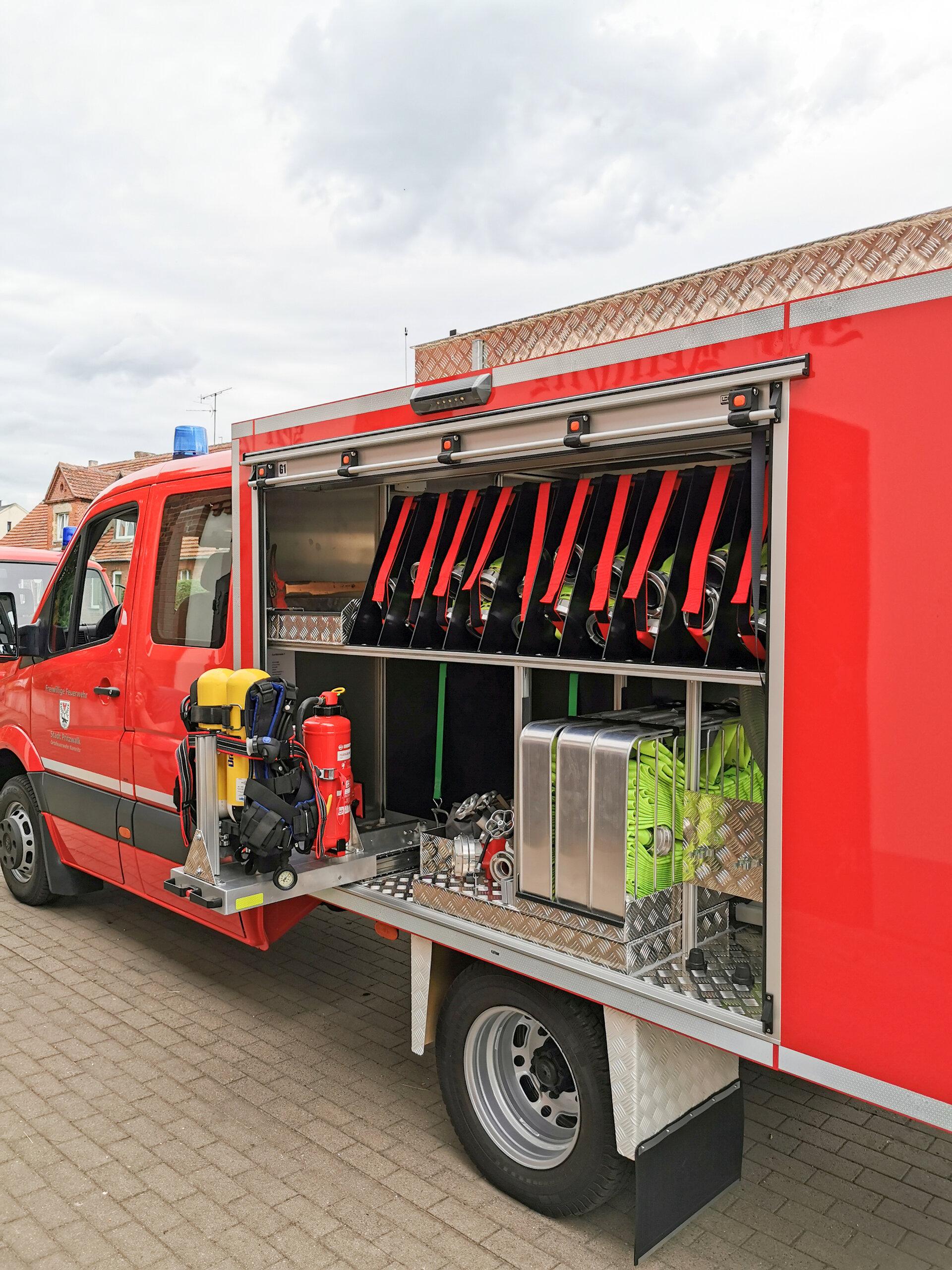 TSF Wasser der Feuerwehr Kemnitz