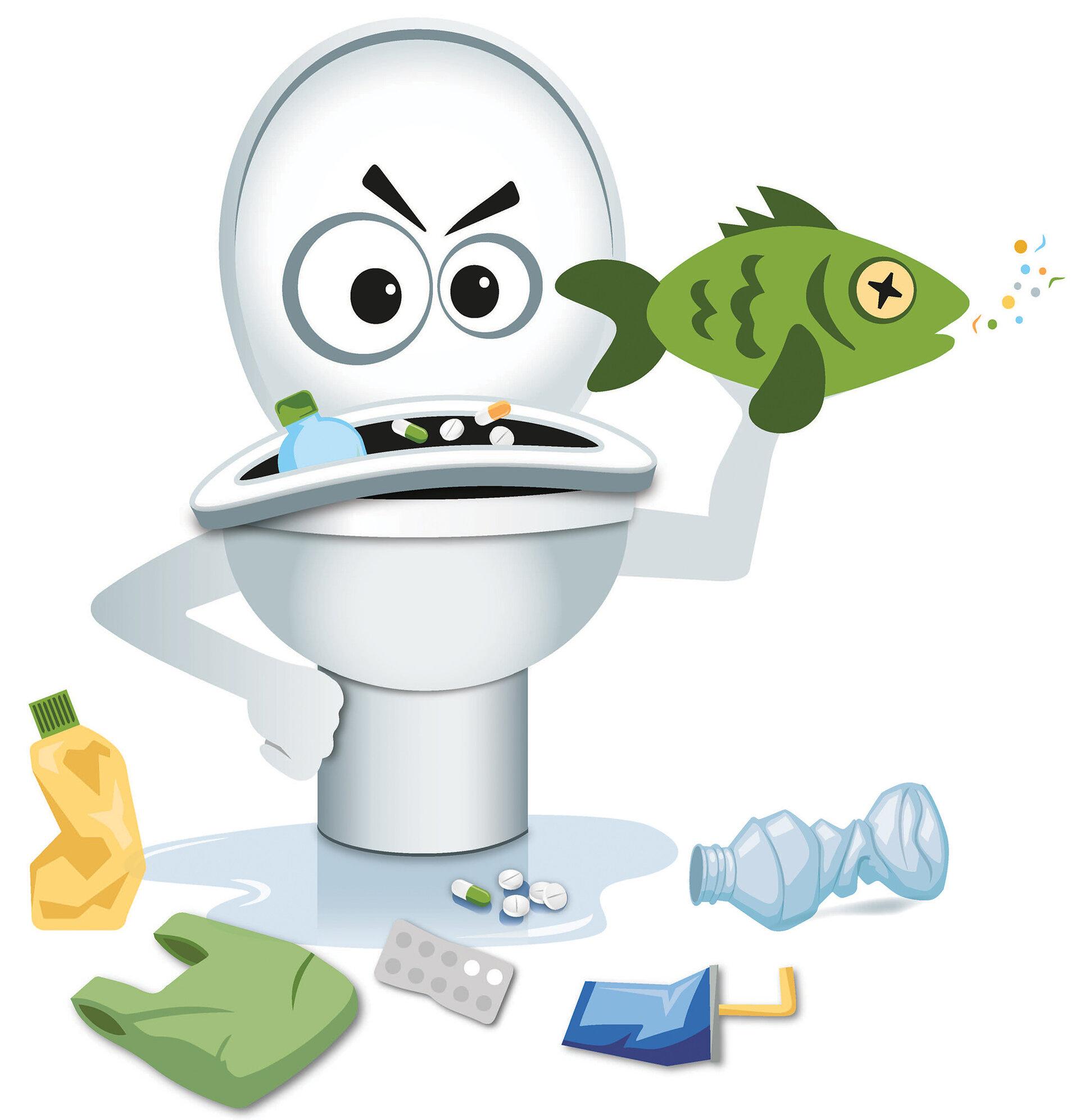 Aktion des AZV gegen vermeidbare Verunreinigung des Abwassers