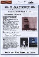 Leuchtturm Balje 1904
