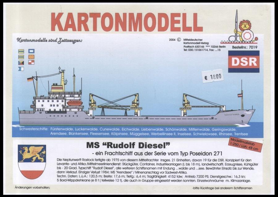 MS RUDOLF DIESEL