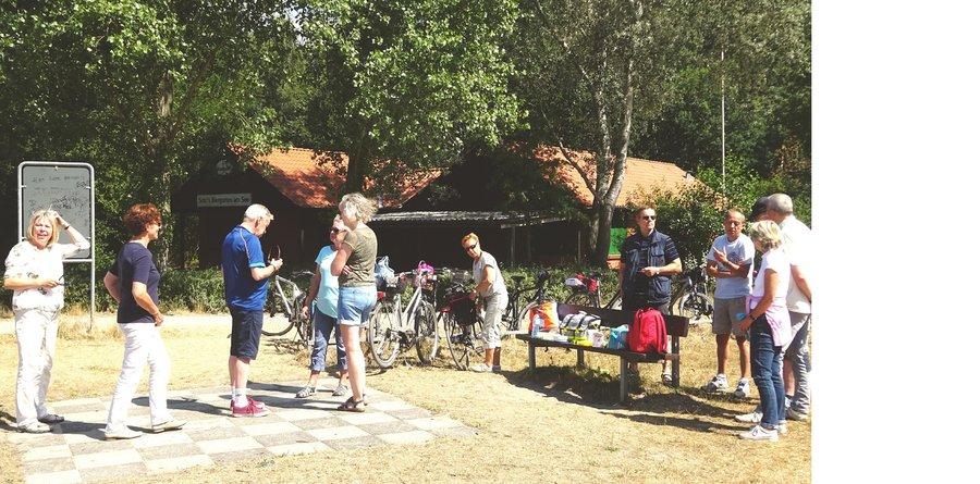 Ausflug: Fahrradtour der Gymnastik-Gruppe
