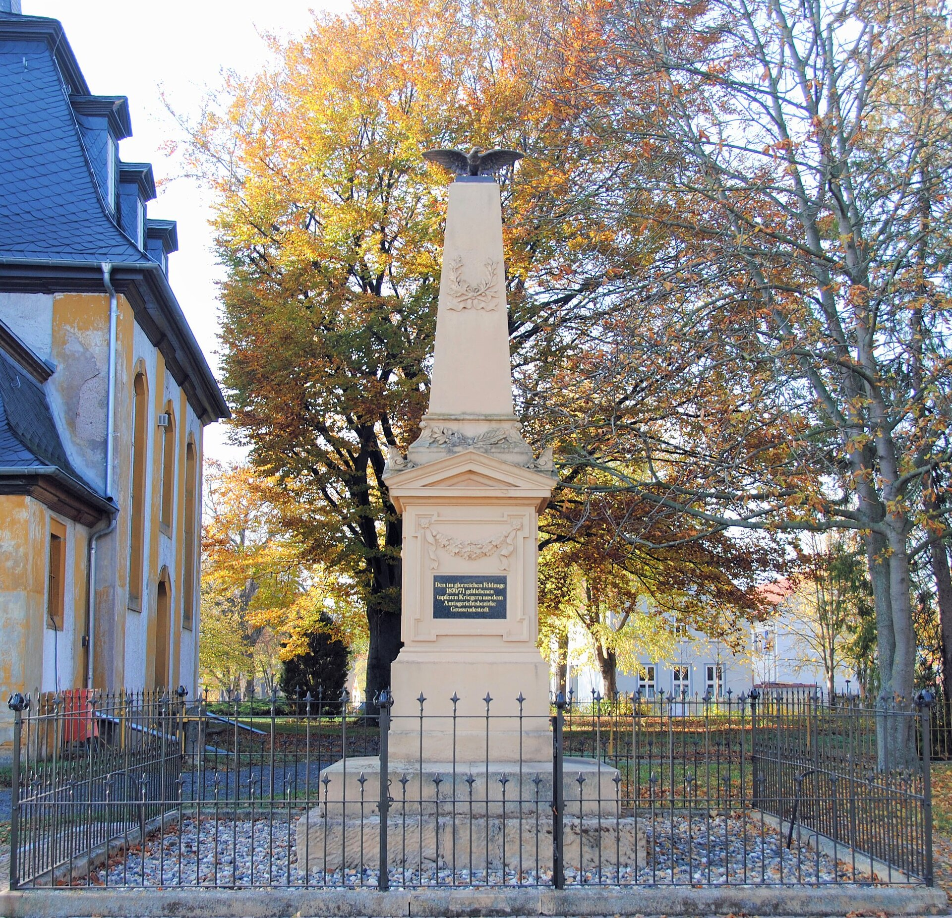 Denkmal Großrudestedt