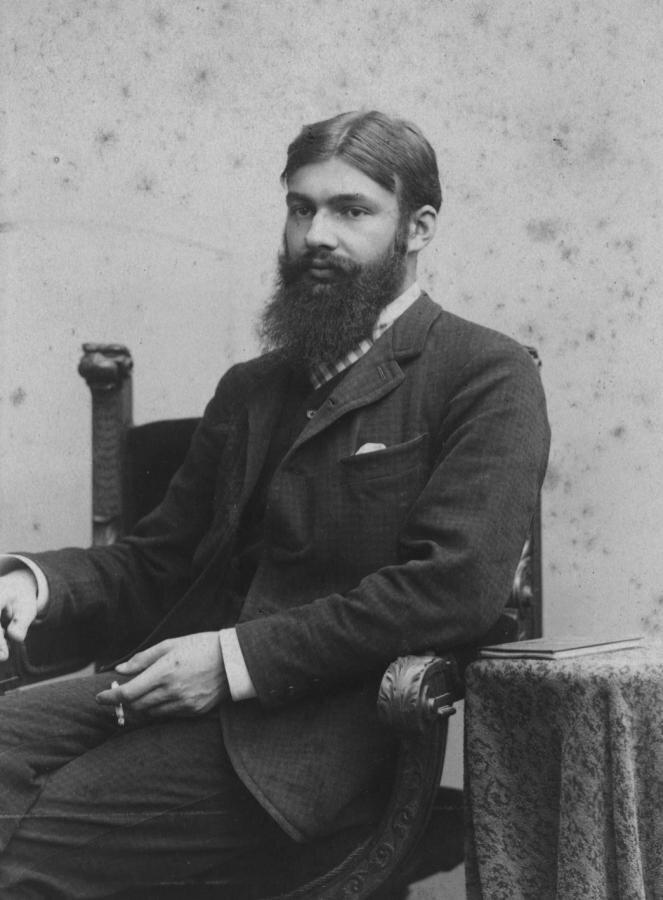 Max Zeisig in jungen Jahren, Aufnahme von 1889