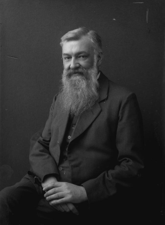 Porträt des etablierten Lichtzeichners