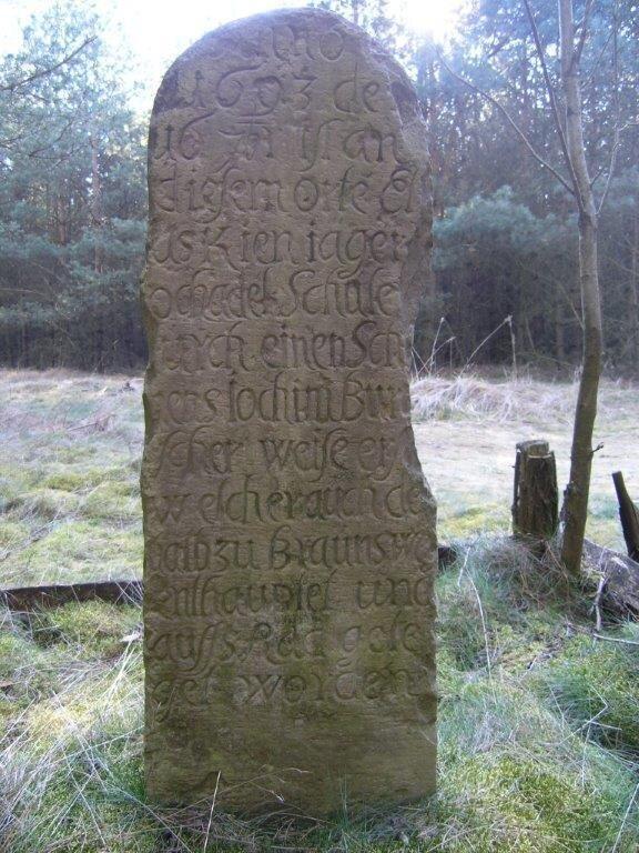 Sandsteinkreuz bei Rittleben
