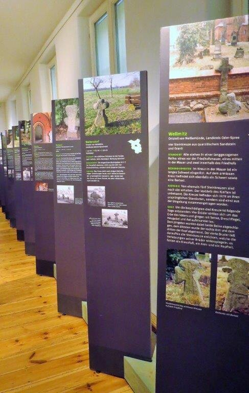 Aufgebaute Ausstellung im Stadt- und regionalmuseum, Perleberg