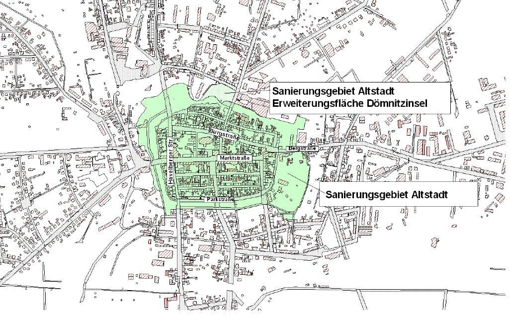 Sanierungsgebiet Altstadt