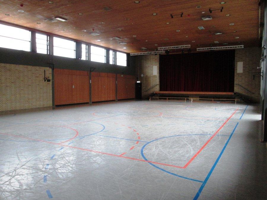 Bild zeigt den Saal