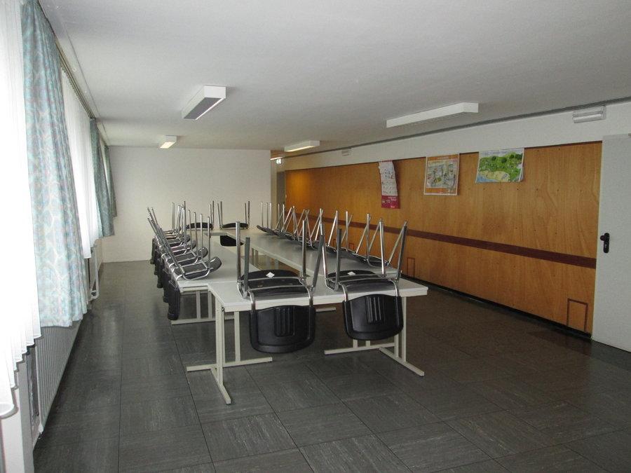 Bild zeigt den Seminarraum im UG