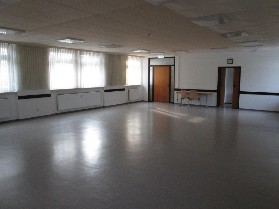 Bild zeigt den Seminarraum im OG