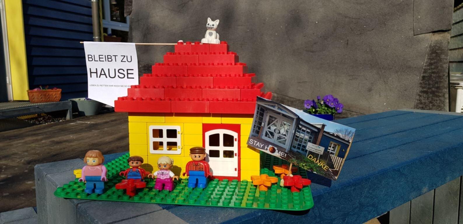 Bild zeigt ein Legohaus
