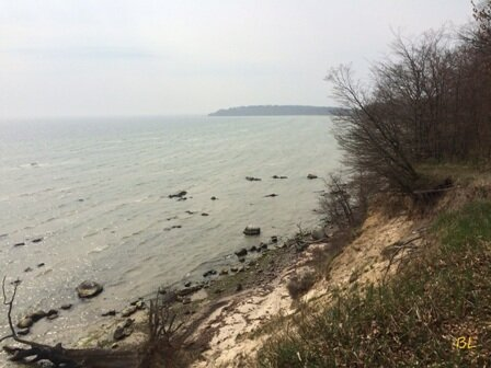 Steilufer Insel Vilm