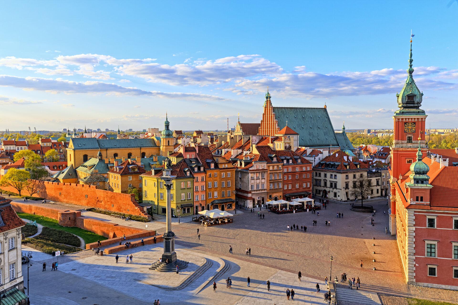 Die Altstad von Warschau, Shutterstock_fotorince