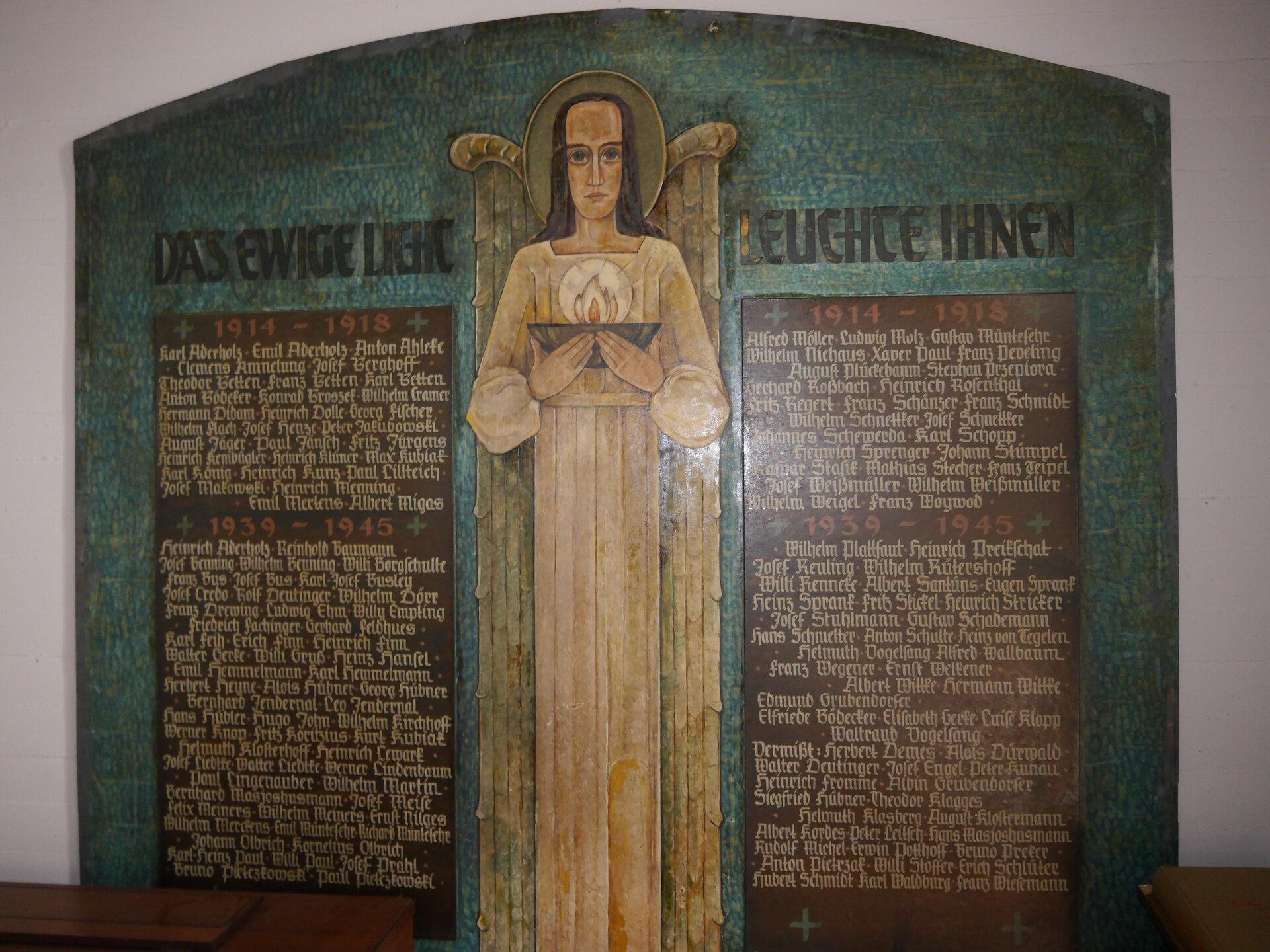 Gedenkstätte katholische Kirche St.Joseph