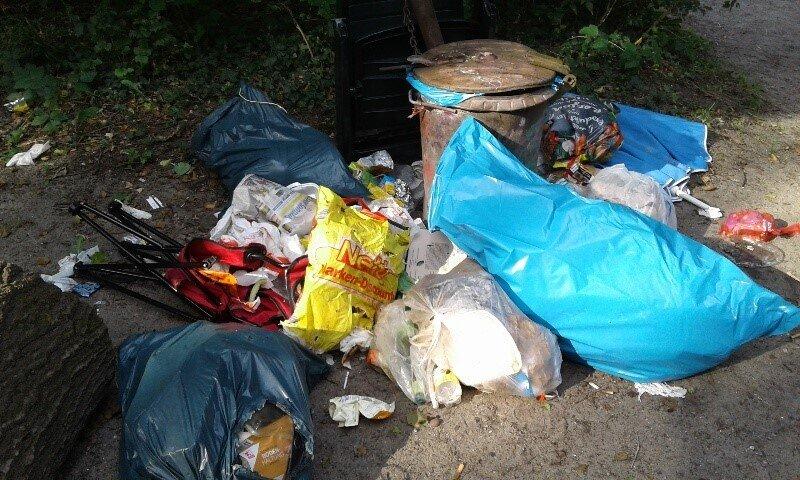 abgeladener Müll Hennickendorf