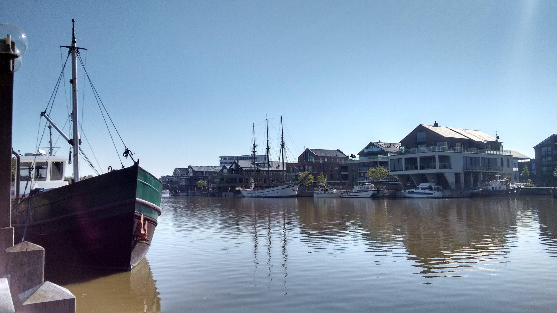 Hafen in Leer