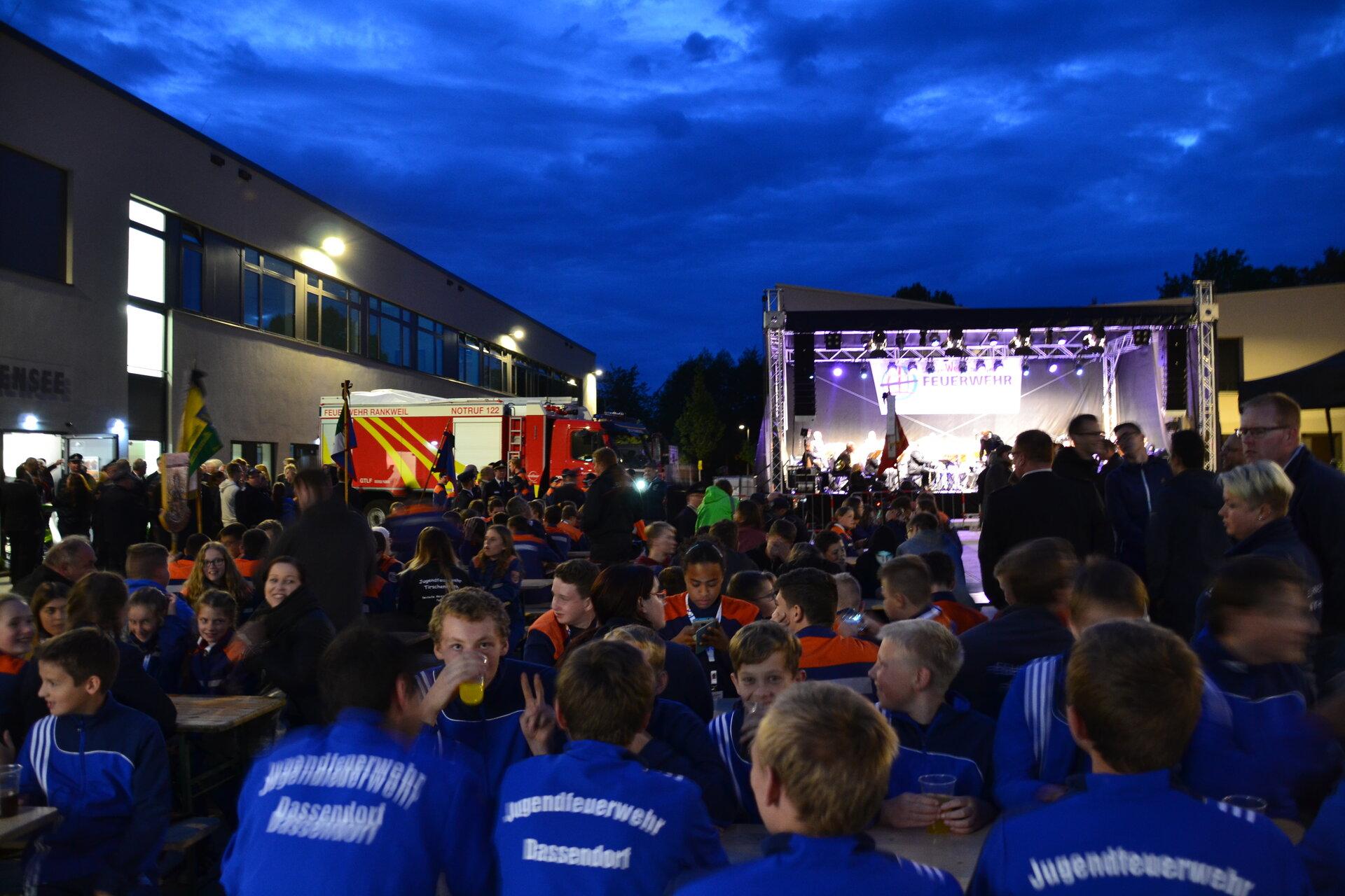 September 2017: Deutscher Jugendfeuerwehrtag in Falkensee (Quelle: Stadtarchiv).