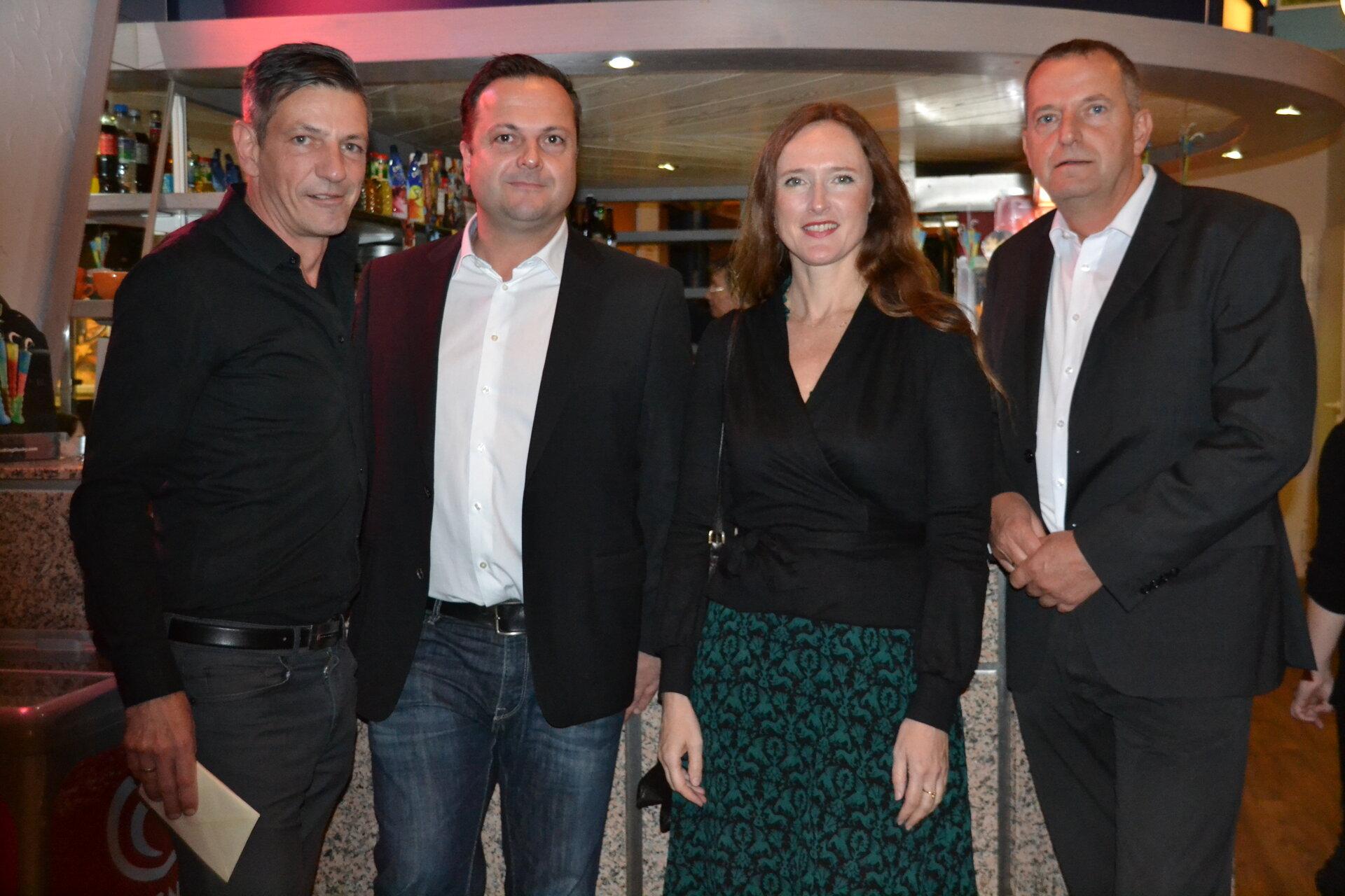 Oktober 2017: Vorpremiere vom preisgekrönten Film 'Zuckersand' im Kino Ala mit Regisseur Dirk Kummer (links im Bild, Quelle Stadtarchiv).