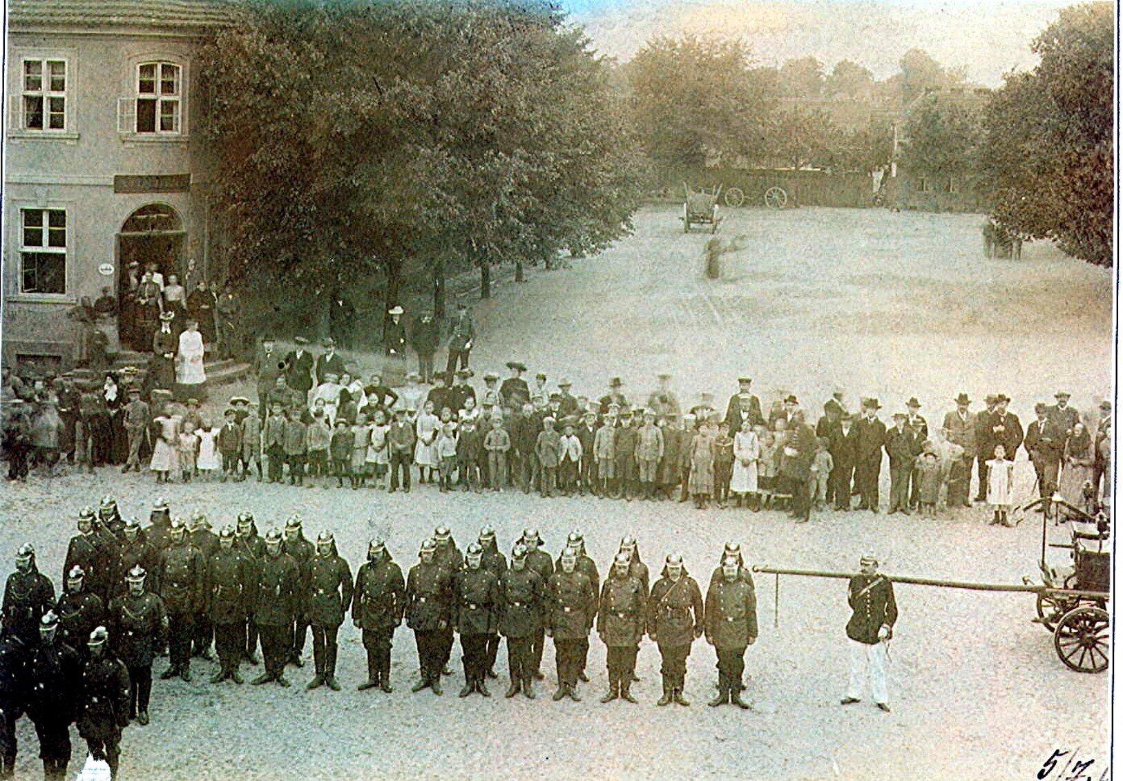 Gründung 1904 Seelower Marktplatz