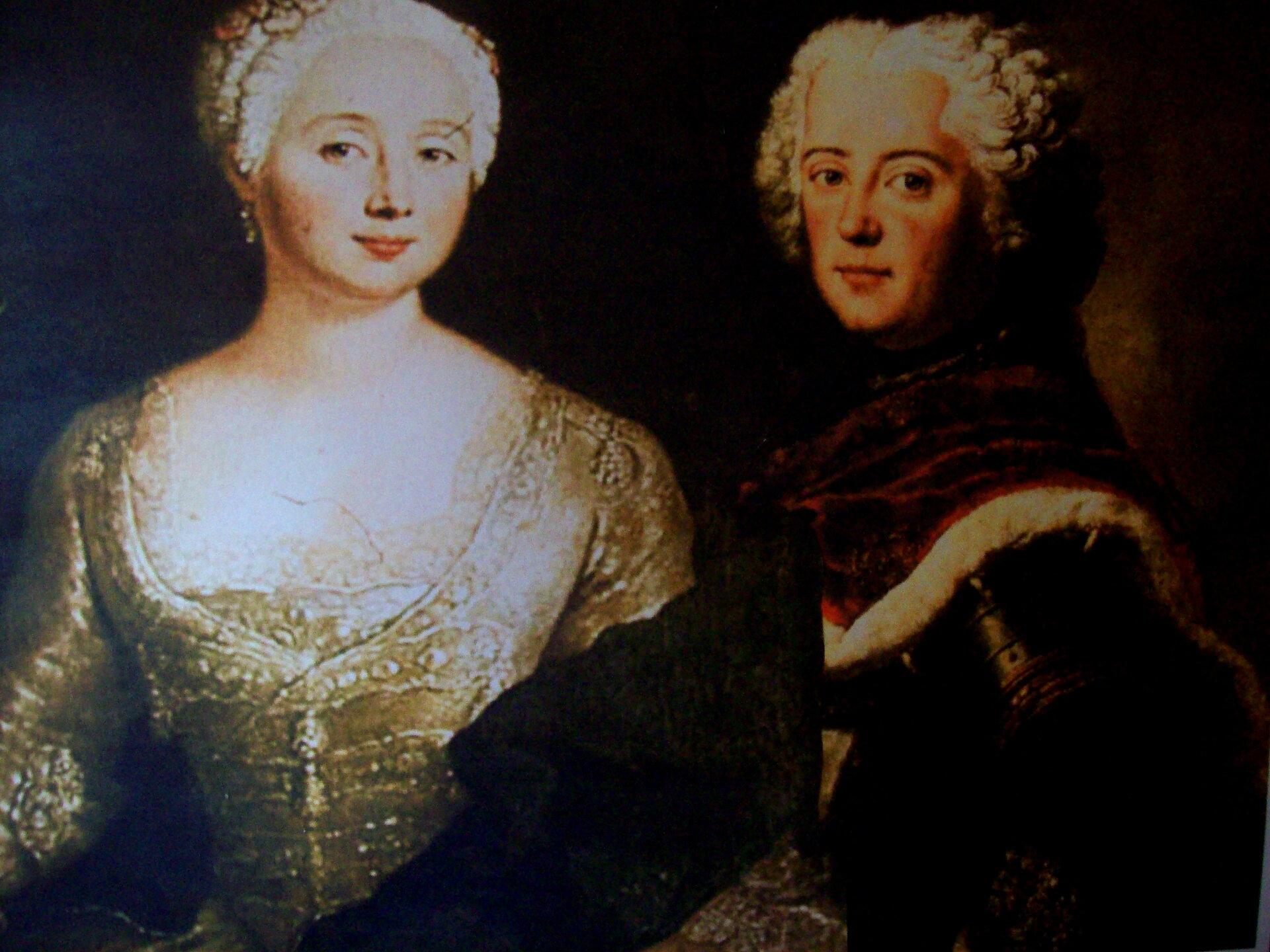 Kronprinz Friedrich und Eleonore von Wreech
