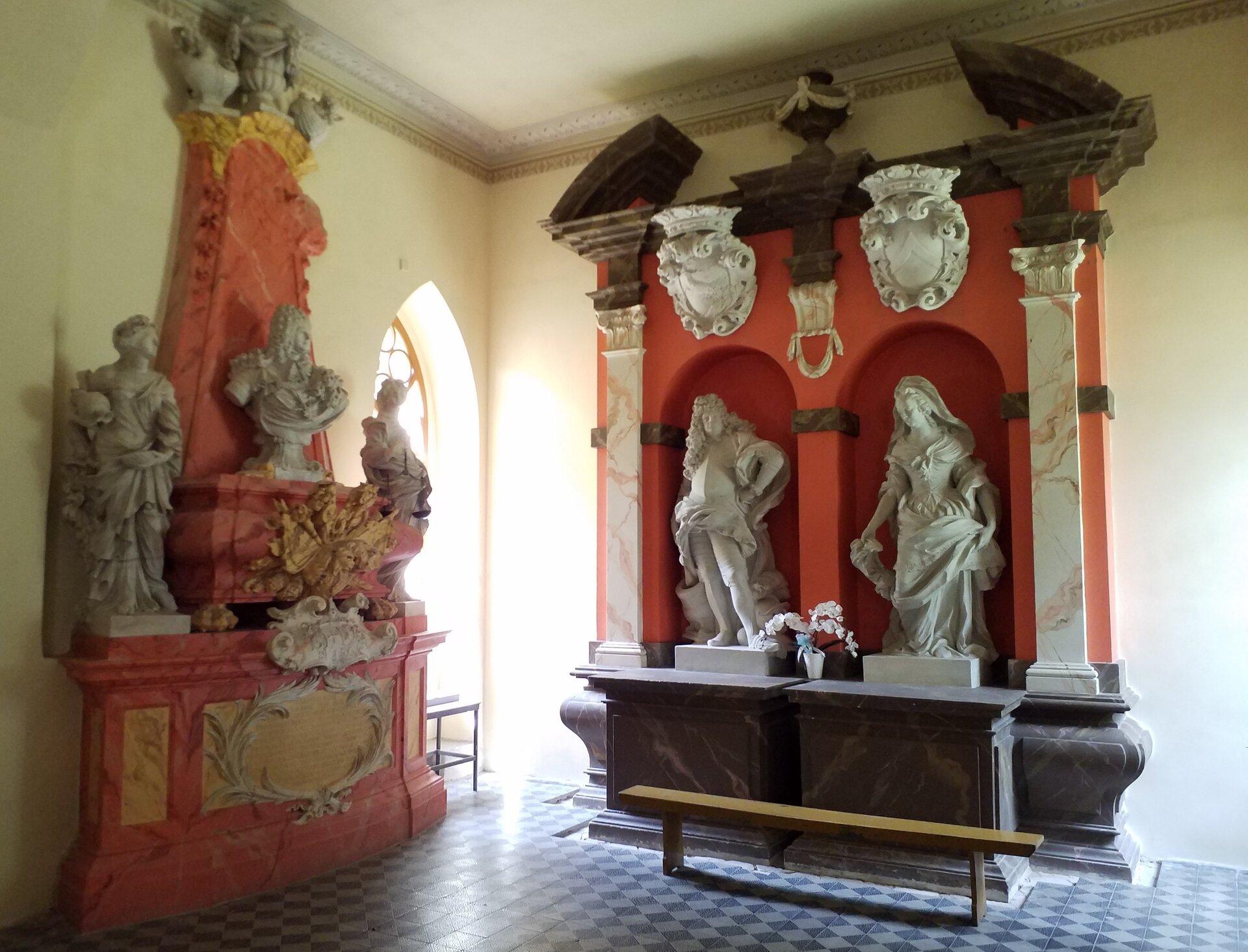 Die Grabmäler in der Stammkapelle derer von Schönings