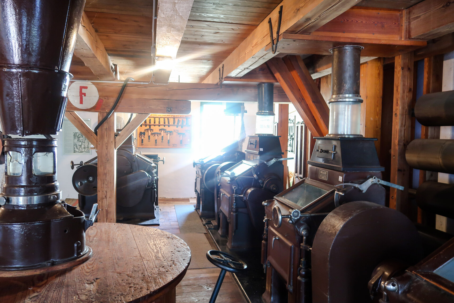 Kathfelder Mühle innen