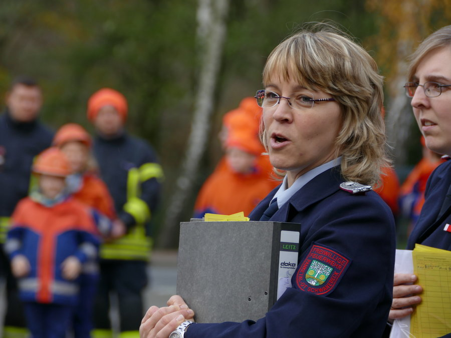 Kreisjugendwartin Doreen Gärtner