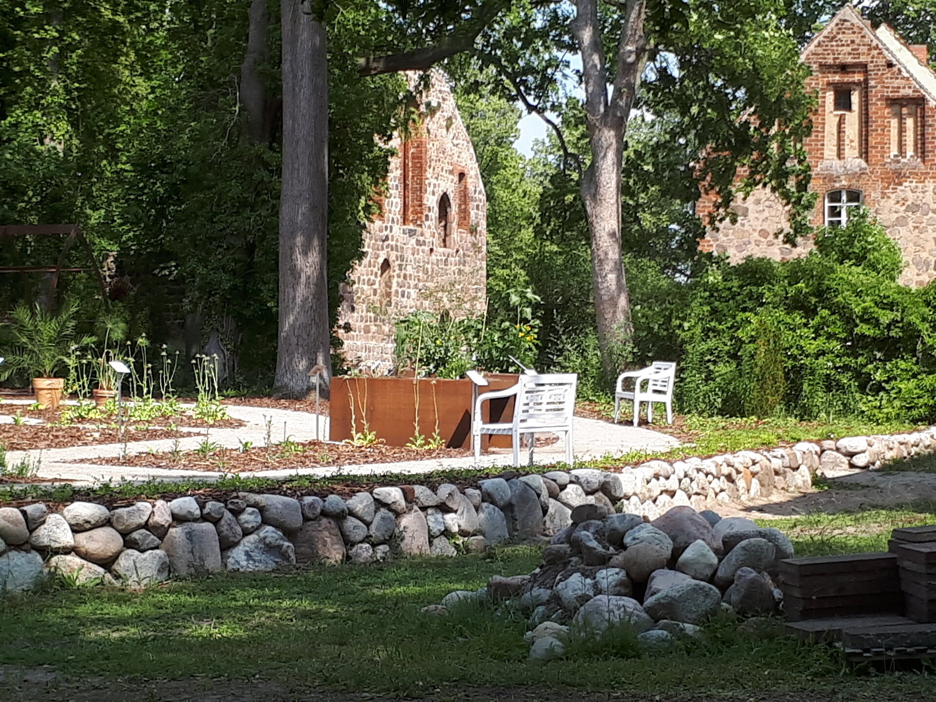 Garten des Buches